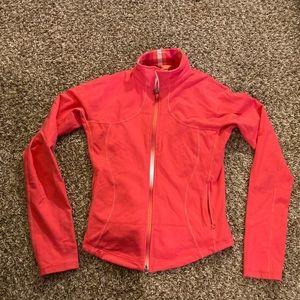 Lululemon zip up jacket top sweatshirt size 8